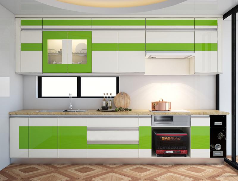 Tủ bếp Acrylic NHA-007