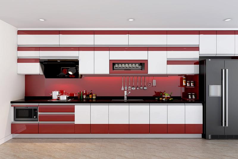 Tủ bếp Acrylic NHA-015
