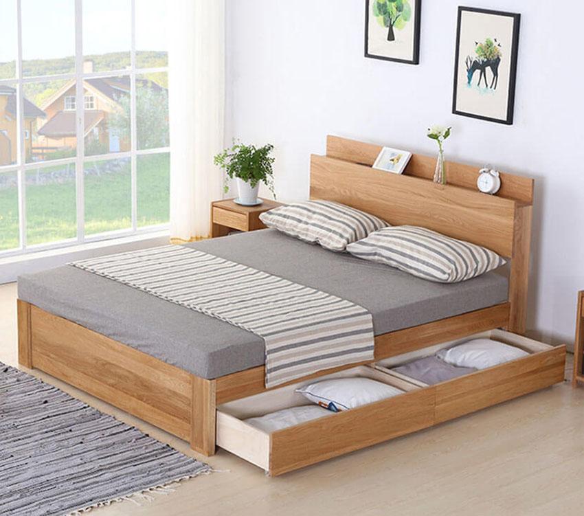 Giường ngủ tiện dụng NHG-001