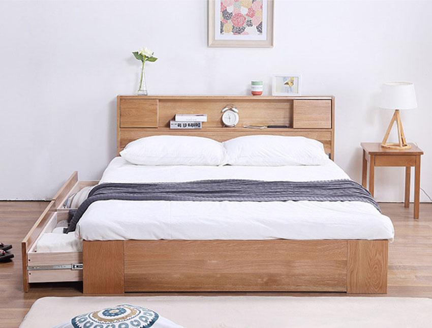 Giường ngủ tiện dụng NHG-002