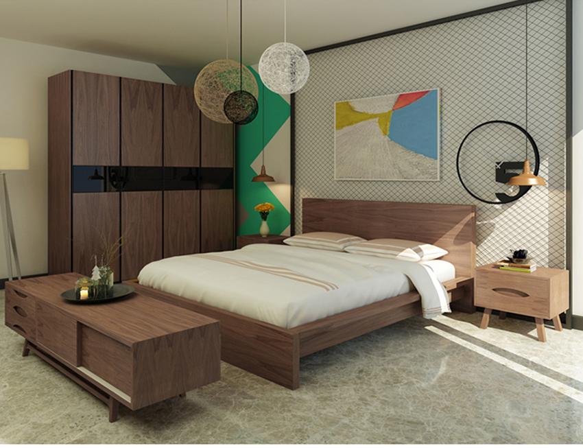 Giường ngủ hiện đại NHG-004