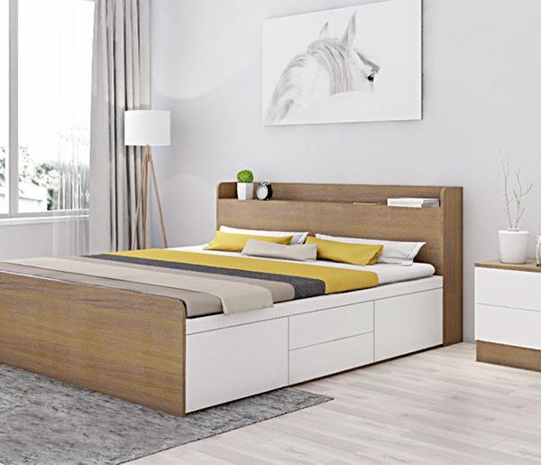 Giường ngủ hiện đại NHG-008