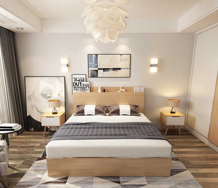 Giường ngủ hiện đại NHG-009